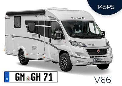Van Sunlight V66 Adventure
