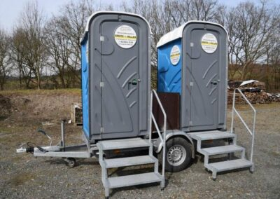 Mobile Toiletten / WCs