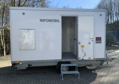 Mobiler Mitarbeiterwagen/Mannschaftswagen